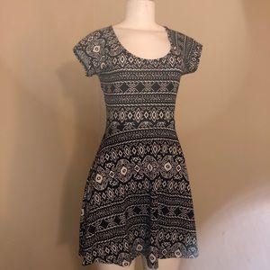 openback dress